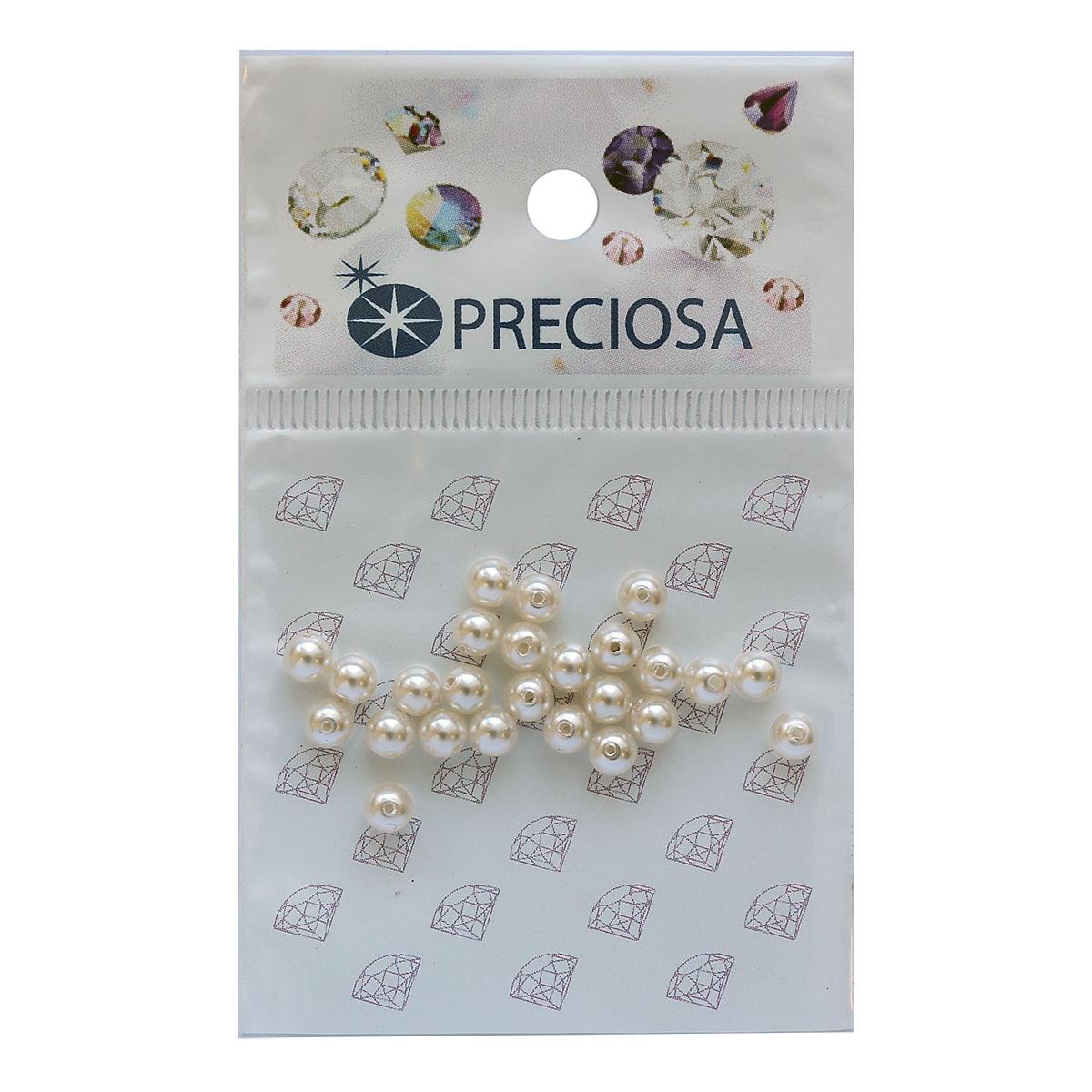 131-10-011 Хрустальный жемчуг White 4мм. 25 шт. Preciosa