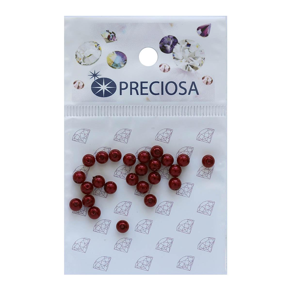 131-10-011 Хрустальный жемчуг Red 4мм. 25 шт. Preciosa