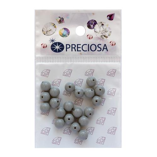 131-10-011 Хрустальный жемчуг Ceramic Grey 6мм. 20 шт. Preciosa
