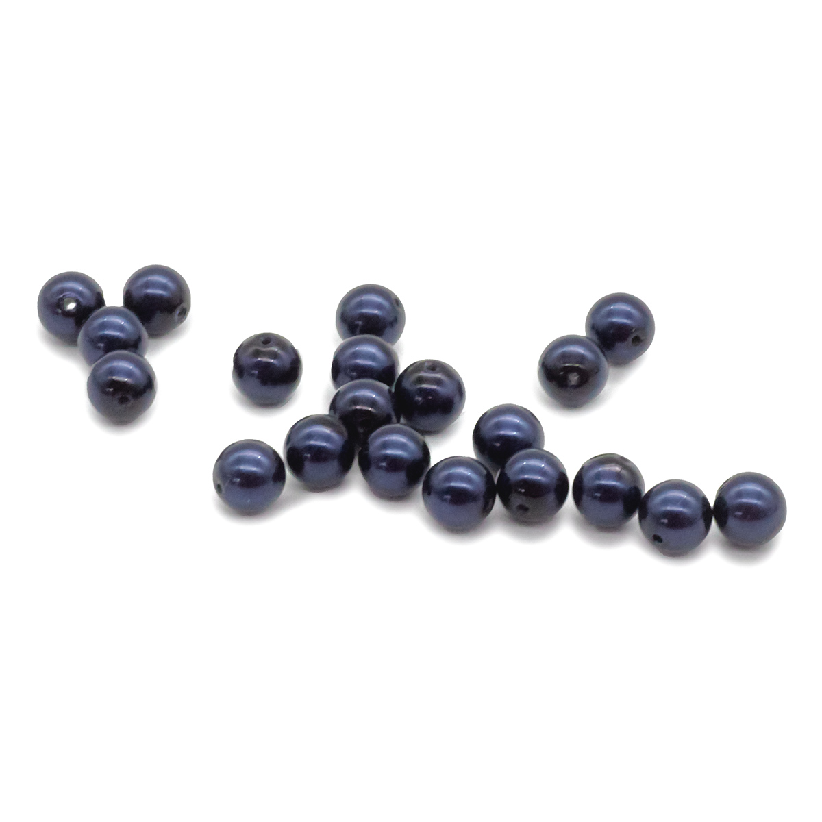 131-10-011 Хрустальный жемчуг Dark Blue 6мм. 20 шт. Preciosa