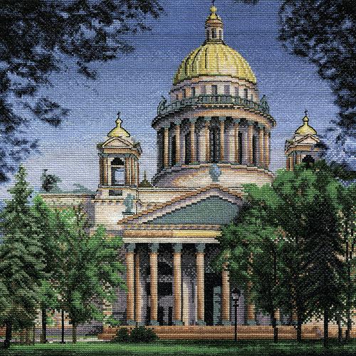 AS-0490 Набор для вышивания PANNA 'Исаакиевский собор' 34x36см