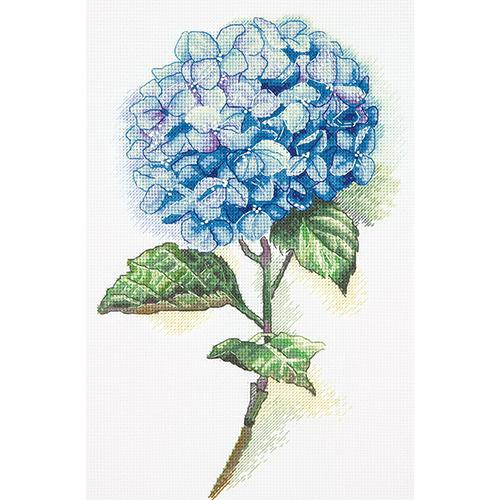 C-1988 Набор для вышивания PANNA 'Голубая гортензия' 20x30см