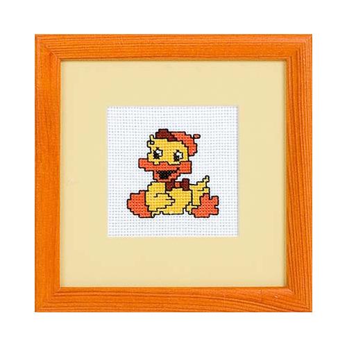 D-0220 Набор для вышивания PANNA 'Утёнок' 6,5x6см