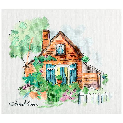 DE-7010 Набор для вышивания PANNA 'Уютный домик' 21,5x21см