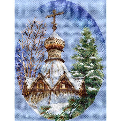 CM-0609 Набор для вышивания PANNA 'Белый снег' 18x23см
