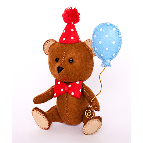 ПФД-1051 Набор для изготовления текстильной игрушки серия Детки 'Happy Мишка'