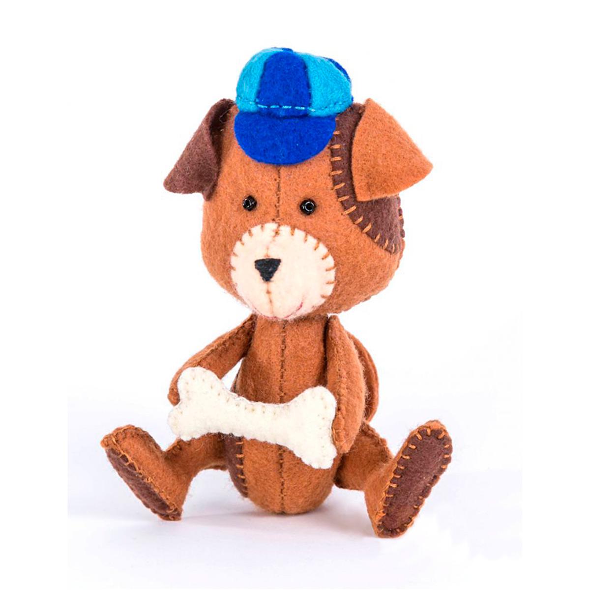 ПФД-1053 Набор для изготовления текстильной игрушки серия Детки 'Щенок'