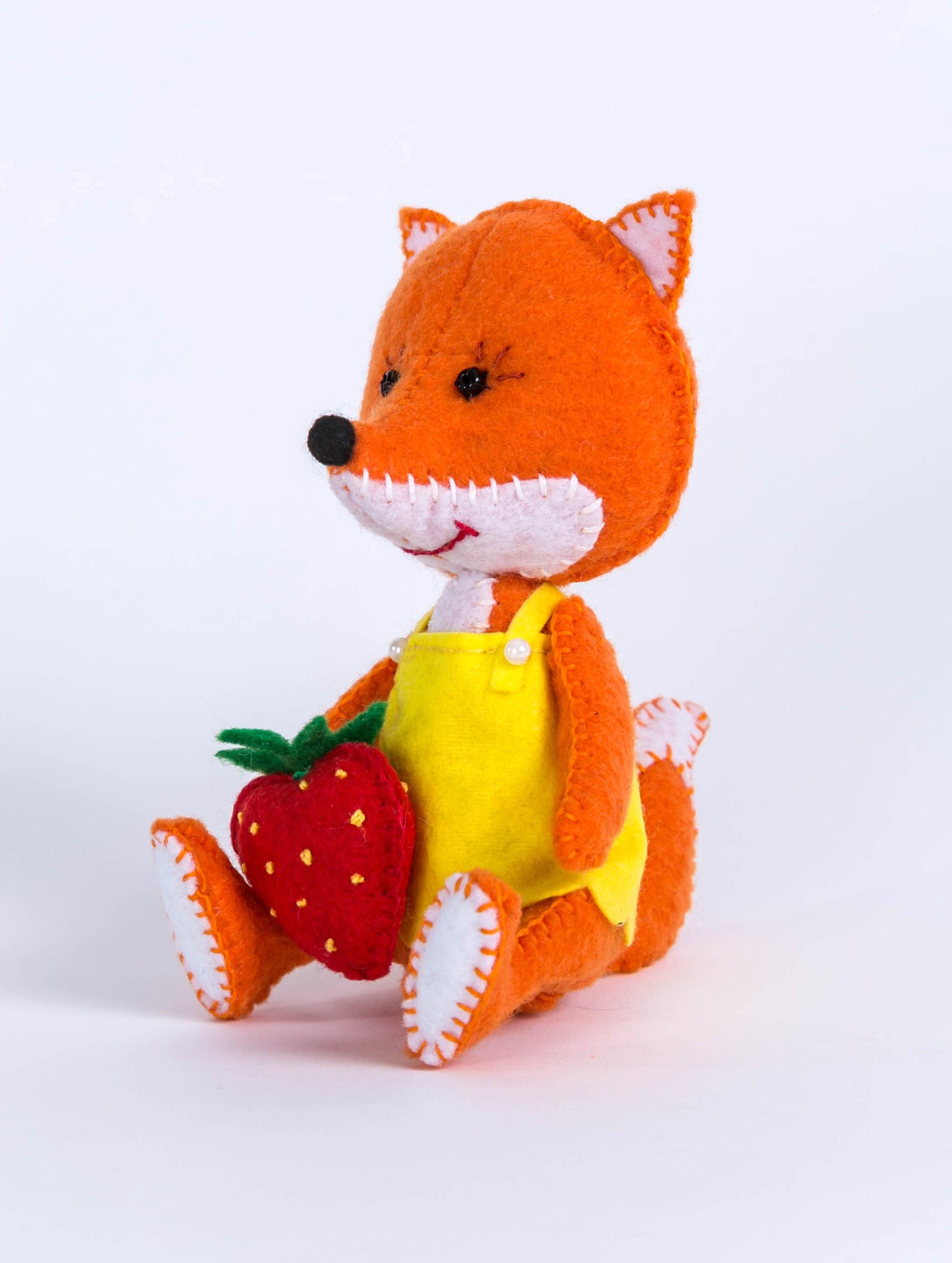 ПФД-1056 Набор для изготовления текстильной игрушки серия Детки 'Лисичка'