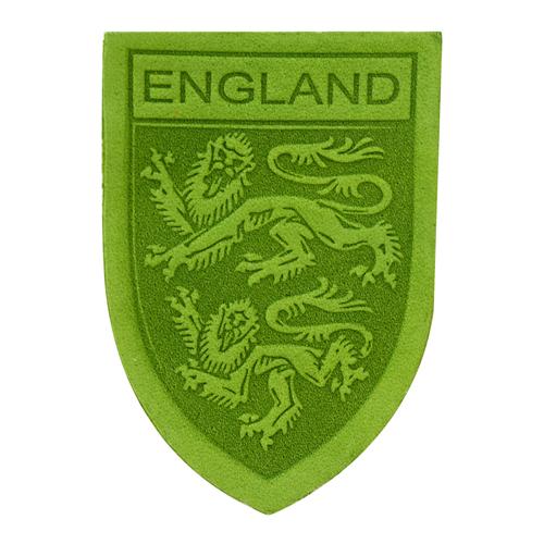 11 Термоаппликация из кожи Герб England 3,9*5,5см,