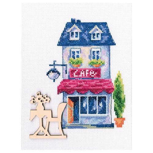 МВЕ9011 Набор для вышивания РТО 'Мой милый дом'10,5х15см