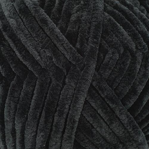 Пряжа Камтекс 'Велюр' 100гр. 95м. (100 % микрофибра (П.Э) (003 черный)