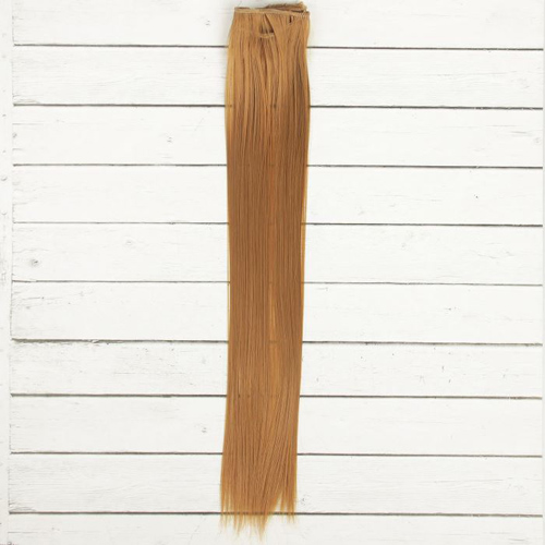 2294373 Трессы для кукол 'Прямые' длина волос 40 см, ширина 50 см, №27В