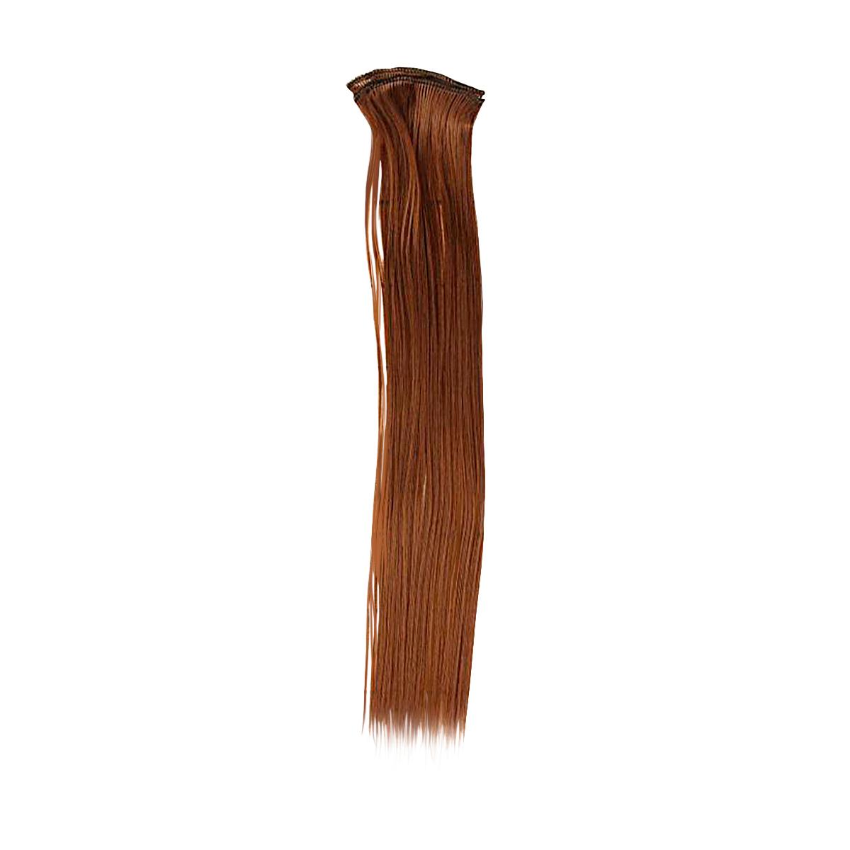 2294375 Трессы для кукол 'Прямые' длина волос 40 см, ширина 50 см, №30В