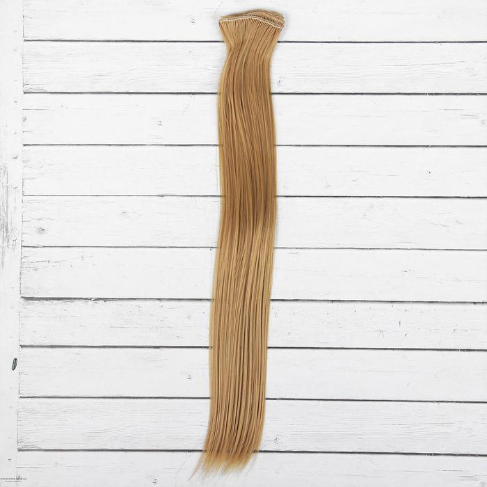 2294374 Волосы - тресс для кукол 'Прямые' длина волос 40 см, ширина 50 см, №27