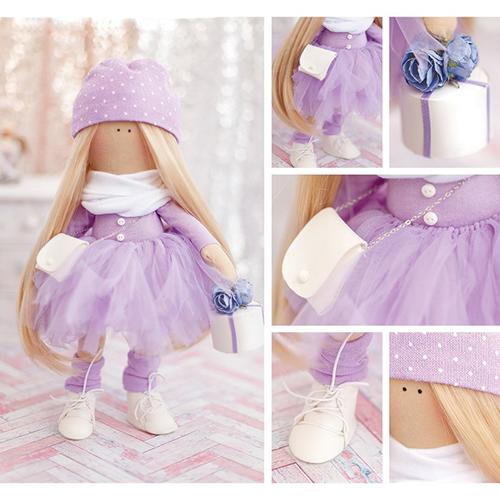 2278768 Набор для шитья 'Мягкая кукла Лизи', 18 х22 х3,6 см