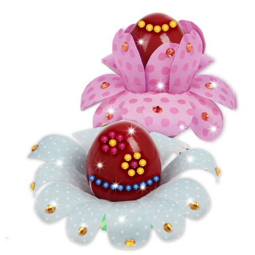 1534074 Набор для создания пасхального украшения 'Цветочки' + стразы