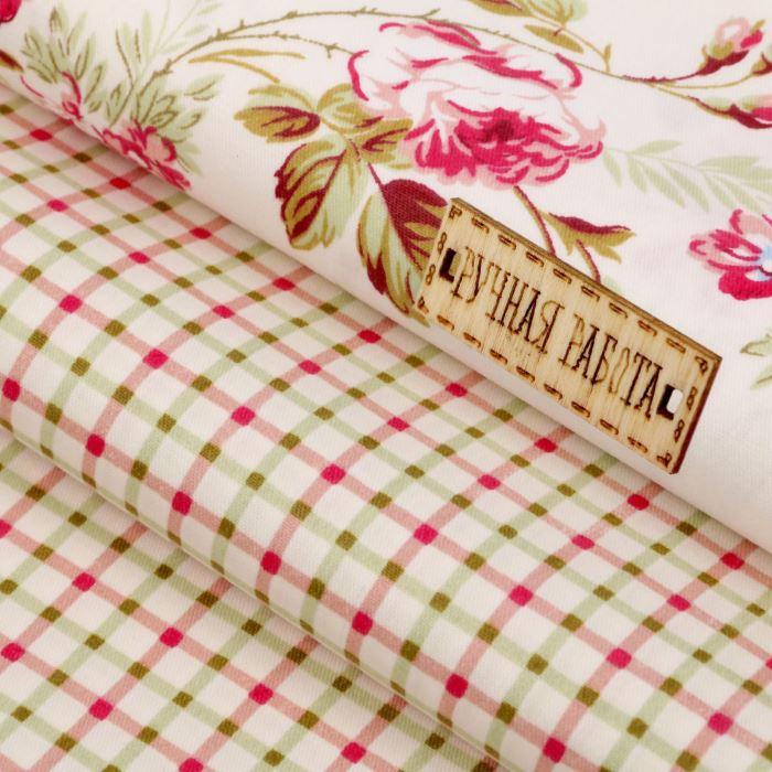 1872418 Набор ткани пэчворк 'Грация', 50 х 50 см, 121 г/м2