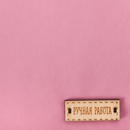 2741496 Ткань для пэчворка Декоративная кожа 'Утренняя роза', 33 х 33 см