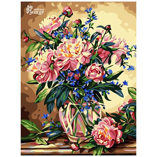 RL014 Набор для рисования по номерам 'Просто букет' 30*40см