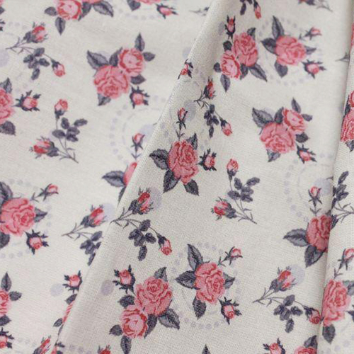 AM603004 Ткань 'Коллекция винтажные розы и кружево'№4, хлопок100%,120г/м2, размер 48х50 см,(±1-2 см)