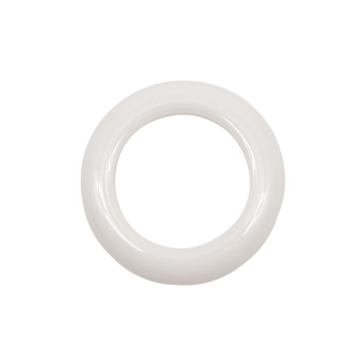 ГЛ672 Кольцо пластик. D=25/35мм, белое