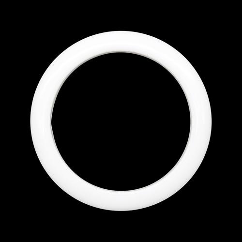 ГЛ672 Кольцо пластик. D=50/64мм, белое