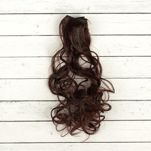 2294349 Волосы - тресс для кукол 'Кудри' длина волос 40 см, ширина 50 см, №6А