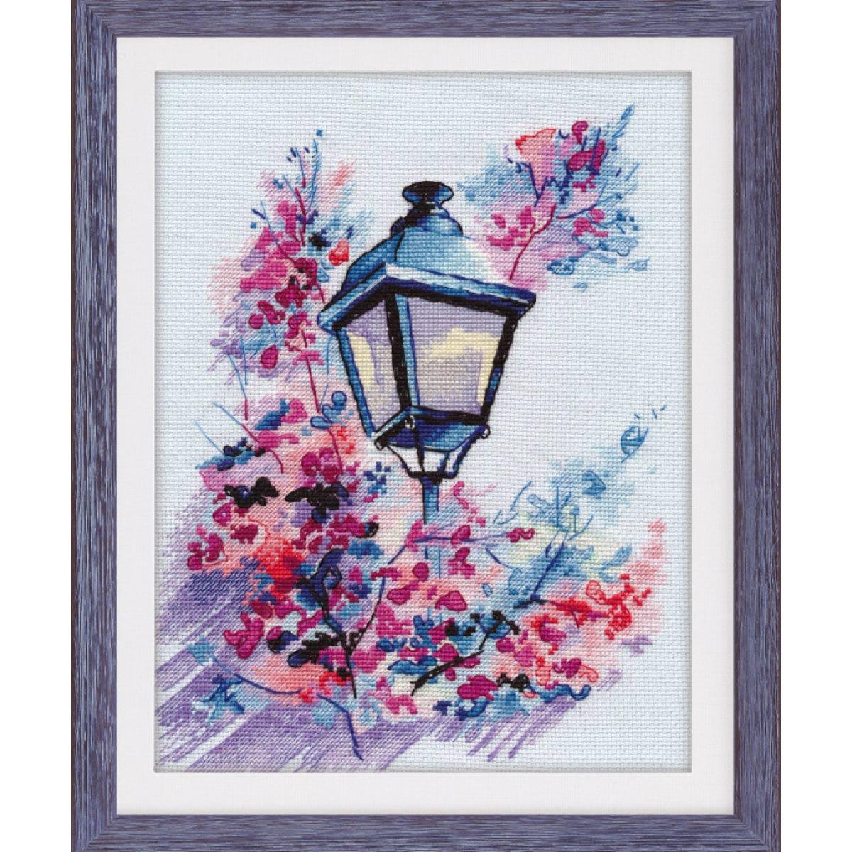 1118 Набор для вышивания ОВЕН 'Вечерний свет'24×18см фото