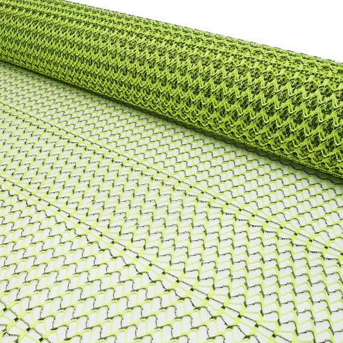 63173 Сетка Бриз двухцветная 50см х 5ярд зеленая флуоресцентная
