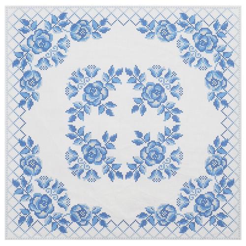 ККПН 04(бязь) Набор наволочка на подушку для вышивки крестом « Гжель» 45*45см