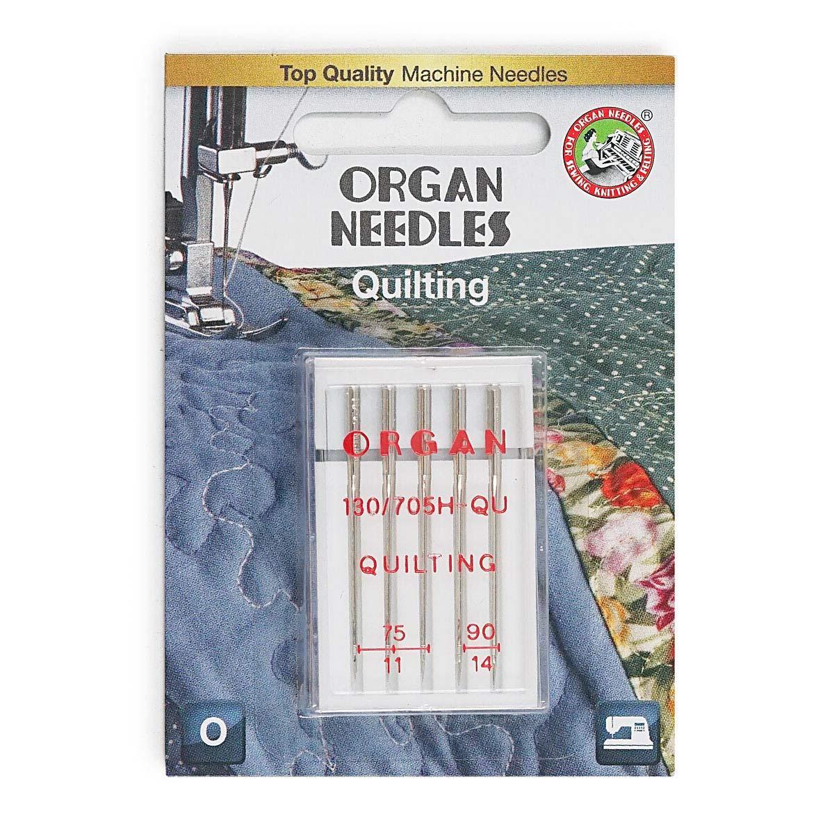 ORGAN иглы квилтинг 5/75-90 Blister