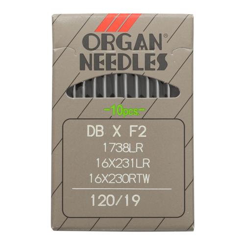 Иглы Орган DB * F2 1738 LR/120 (уп.10шт.)