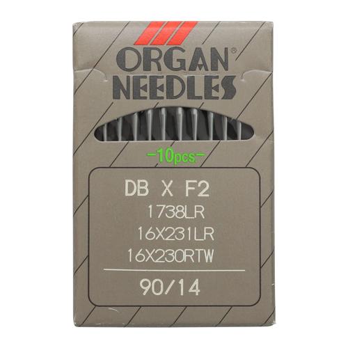 Иглы Орган DB * F2 1738 LR/90 (уп.10шт.)