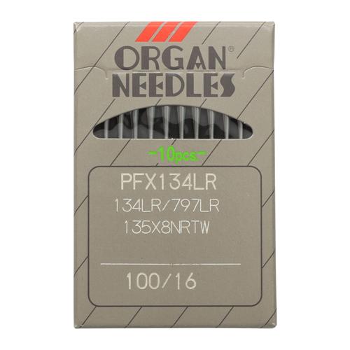 ORGAN иглы PF x 134 LR/100 (уп.10 шт.)