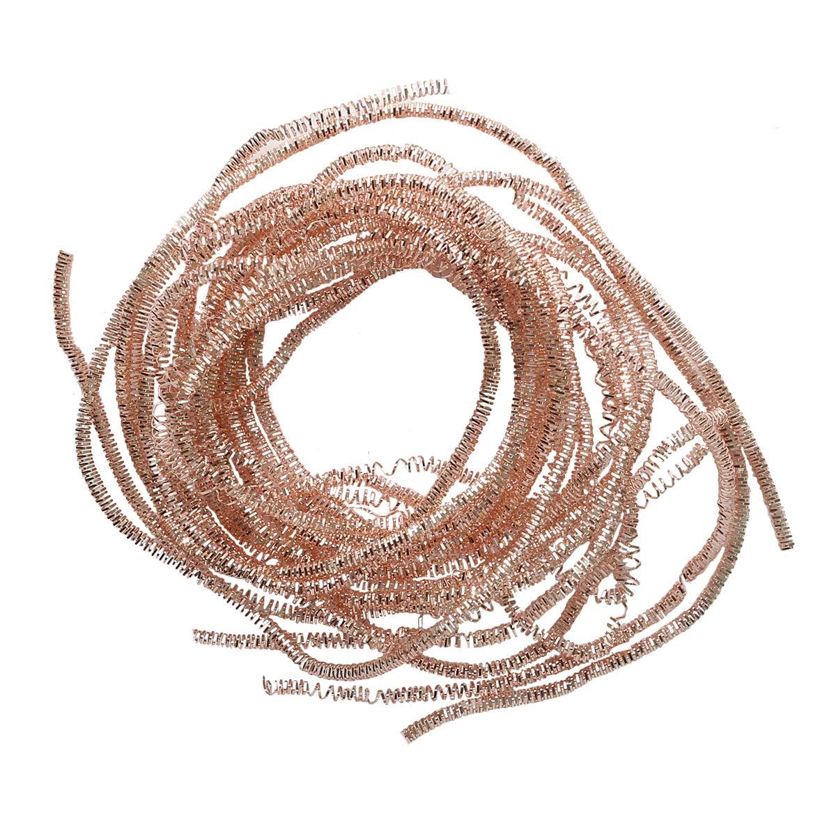 ТК014НН1 Трунцал медный,розов.золото 1,5 мм, 5 гр/упак Астра