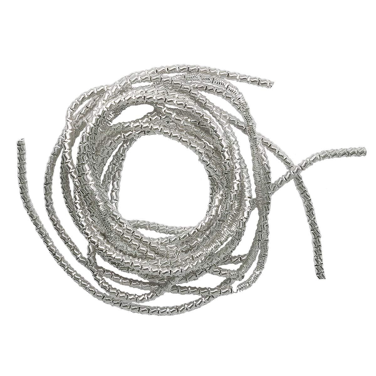 ТБ001НН2 Трунцал витой,серебро 2,0 мм, 5 гр/упак Астра