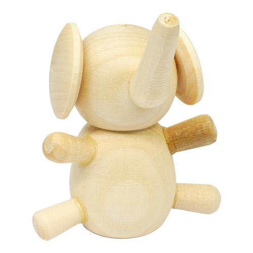 Деревянная заготовка Фигурка животных Слон