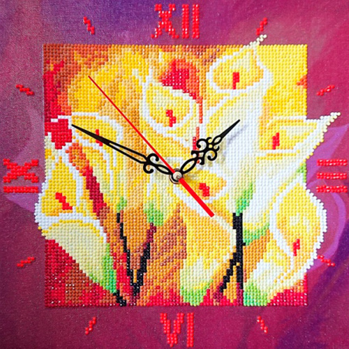 7303017 Алмазные часы Колор Кит 'Семейное счастье' 30*30см