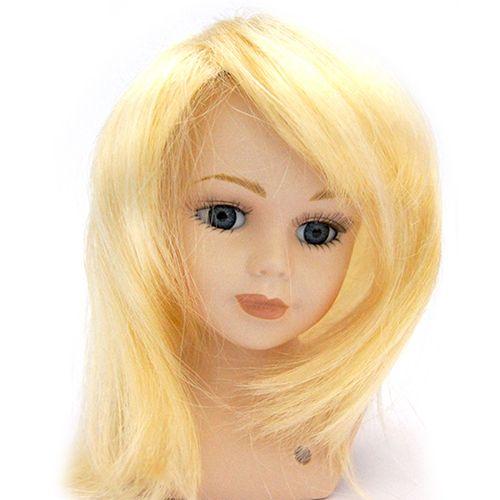 23770 Волосы для кукол П 30,прямые, цв.Б