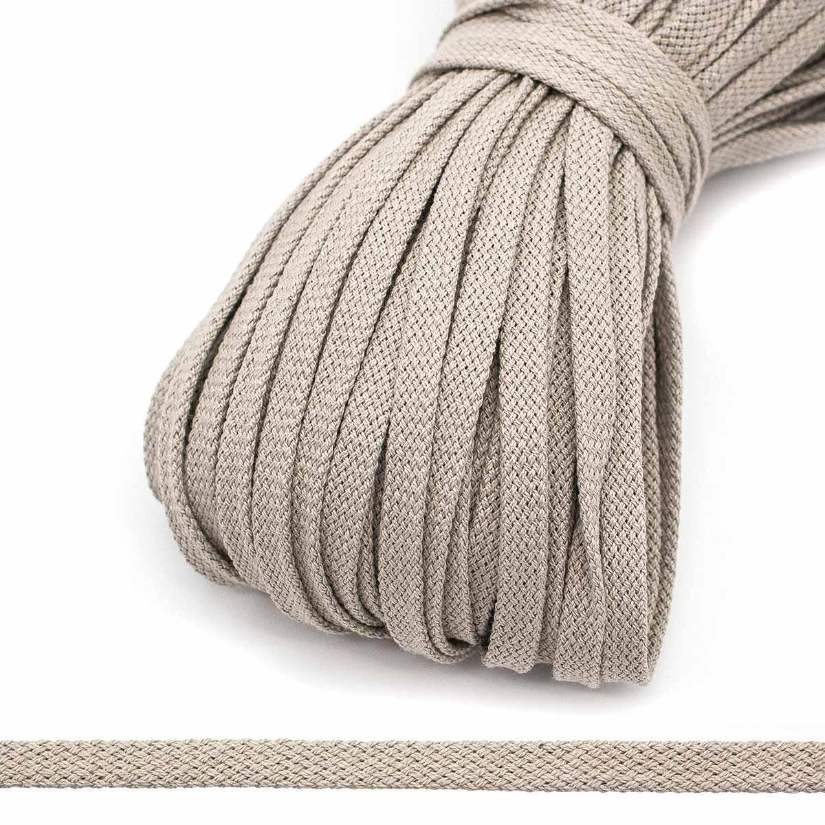 р6640 Шнур плетеный 9мм*100м, (хлопок 100%)
