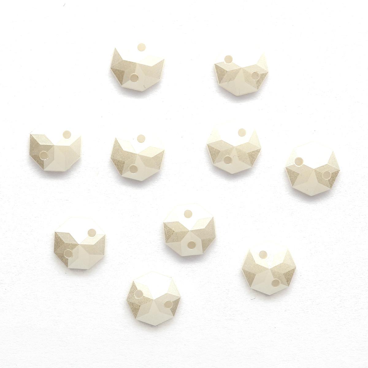 ACRT-M032-J2 Стразы акриловые,под жемчуг 8мм, 10шт/упак
