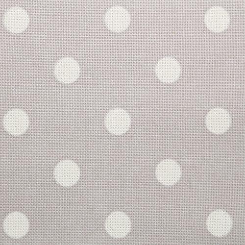 786 (802) ткань для вышивания равномерка набивная 500*147см 100% хлопок 30ct белый горох