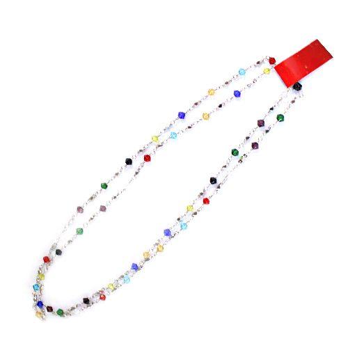 Цепочка HJ001 декоративная 'ромбики' *1м (МС)
