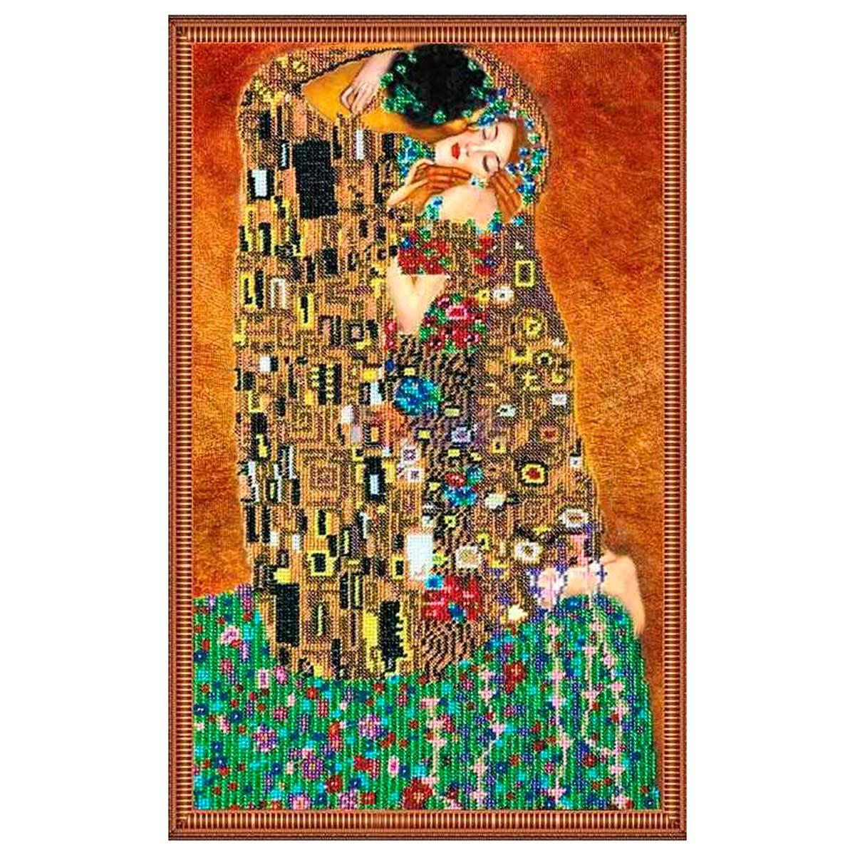 АВ-073 Набор для вышивания бисером 'Абрис Арт' 'Поцелуй', 30*46 см
