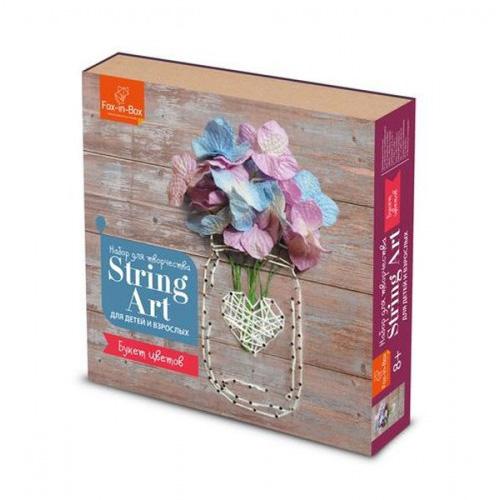 FB606309 Набор для творчества Стринг Арт 'Букет цветов'