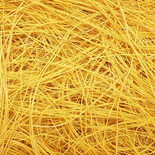 129846445 Волокно сизаля 50г желтое