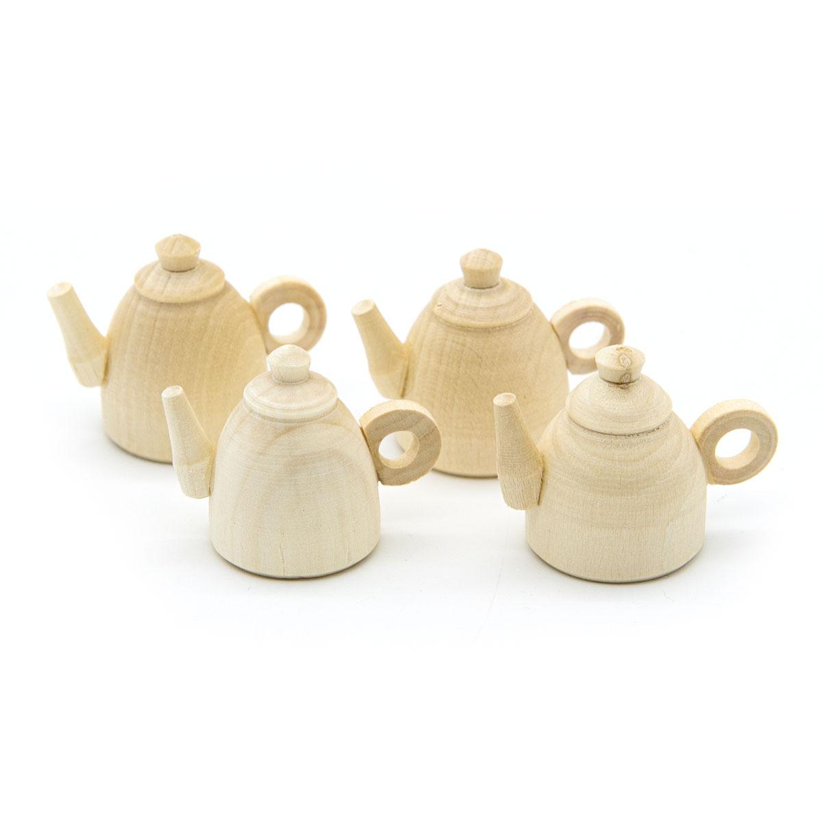 Деревянная заготовка Чайник мини