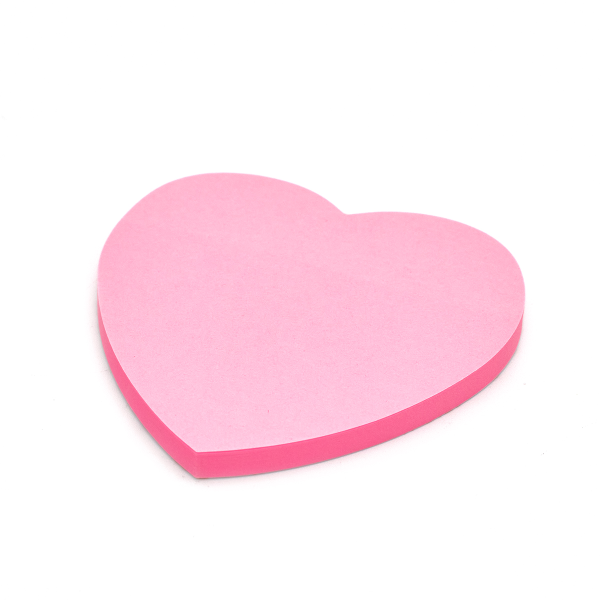LAMARK0140 PK Бум/зам. фигурная Сердце неон розовая