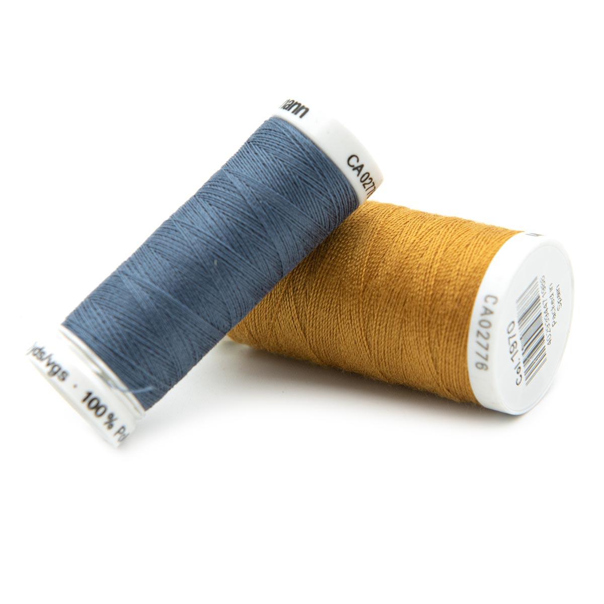 Набор нитей 'Джинсовый' (для пошива изделий из джинсовых тканей) 2 шт/упак Гутерманн, Ассорти 1