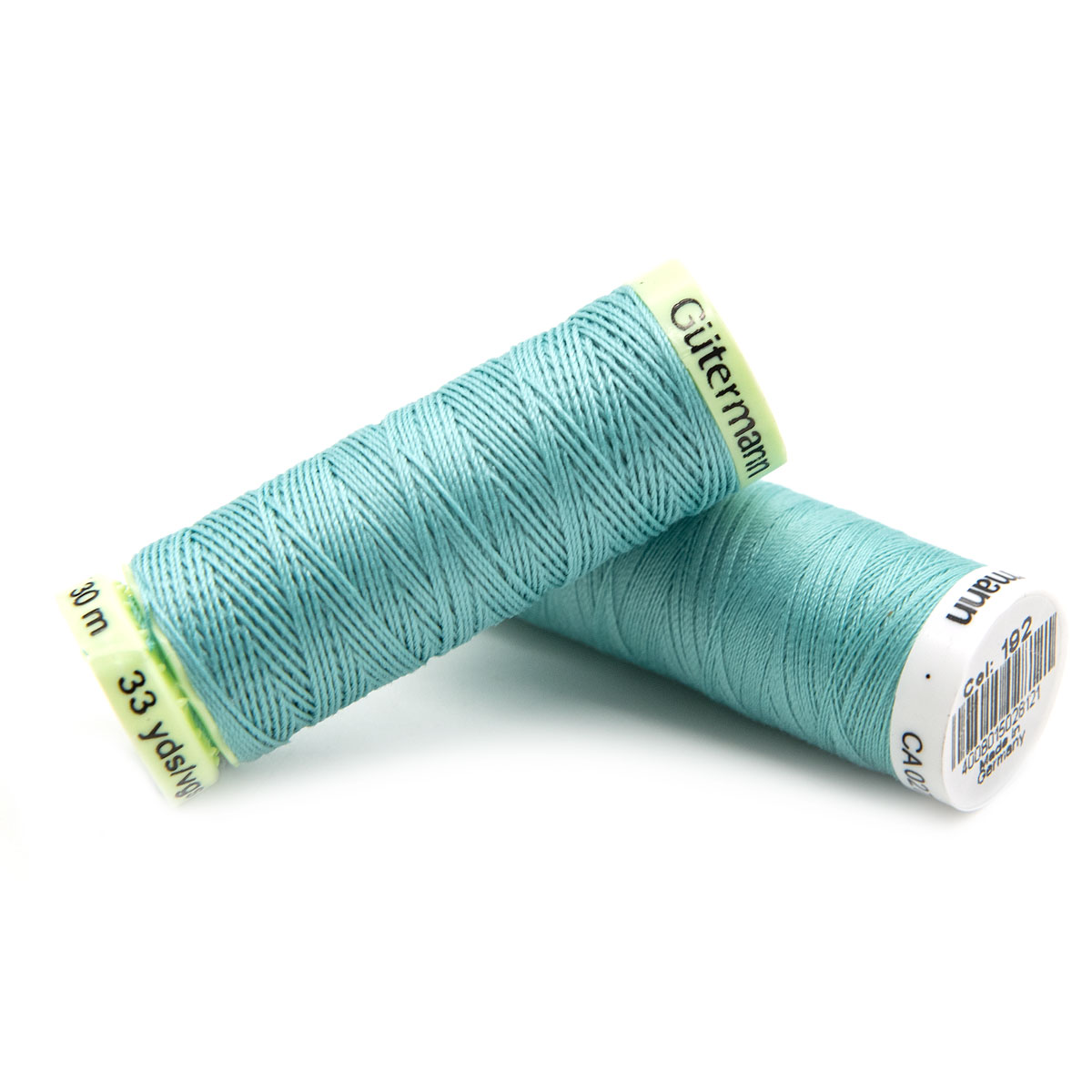 Набор швейных нитей (744506 Нить Top Stitch 30м, 748277 Нить Sew-All 200м) 2шт/упак Гутерманн, 192 багамы